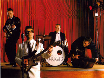 Rave On - A Tribute To Buddy Holly: Marc Robinson & The Counterfeit Crickets picture