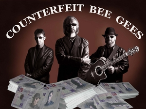 Counterfeit Bee Gees artist photo