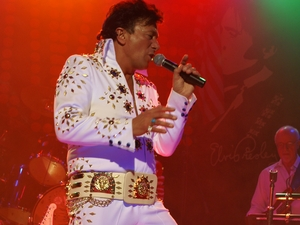 Paul Priestly's Elvis Tribute artist photo