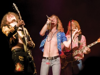 Boot Led Zeppelin artist photo