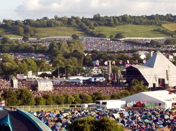 Glastonbury Festival: Gates Open at Noon picture