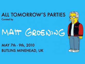 All Tomorrows Parties Weekend 1: Matt Groening + Iggy & The Stooges + CocoRosie + Built To Spill + Thee Oh Sees + The Boredoms + The Raincoats + Toumani Diabate + Danielson + James Blackshaw + Anni Rossi + Viv Albertine (The Slits) + Panda Bear + The Residents + Deerhunter + Broadcast + Daniel Johnston + Amadou & Mariam + Shonen Knife + Ruins picture