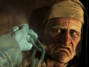 Film promo picture: Disney's A Christmas Carol