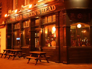 Old Queens Head artist photo