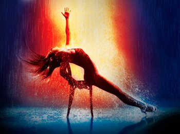 Flashdance: Matt Willis, Victoria Hamilton-Barritt picture