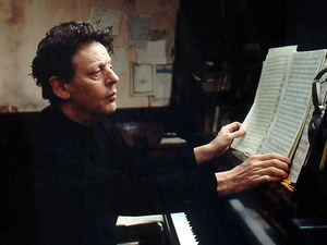 Philip Glass artist photo