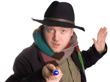 99 Club Islington: Toby Hadoke, Joe Lycett, Pete Johansson, Matt Green picture