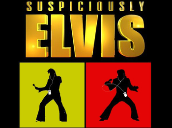 Suspiciously Elvis artist photo
