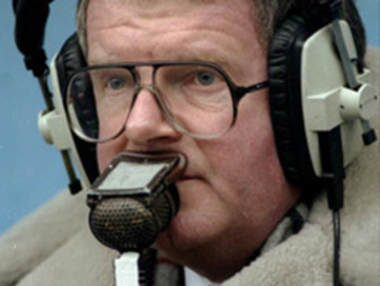 John Motson artist photo