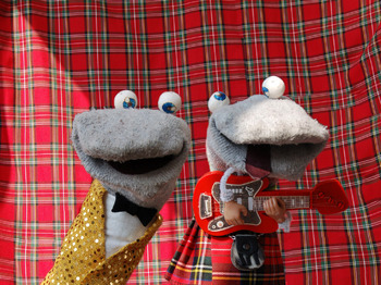 Bath Comedy Festival: Socks In Space: The Scottish Falsetto Sock Puppet Theatre picture