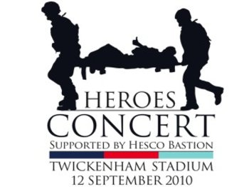 Help For Heroes Concert: Robbie Williams + James Blunt + Alexandra Burke + Alesha Dixon + Enrique Iglesias + Katherine Jenkins + Tom Jones + Pixie Lott + Plan B + The Saturdays + The Wanted + John Bishop + Kevin Bridges + Jack Dee + Rhod Gilbert + Peter Kay + Jason Manford + Michael McIntyre + Bruce Forsyth picture