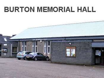 Burton Memorial Hall venue photo