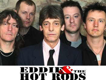 Eddie And The Hot Rods + DJ Bruce picture