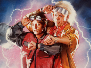 Film promo picture: Back to the Future