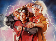 Back to the Future artist photo