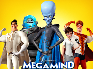 Film promo picture: Megamind