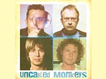 Uncaged Monkeys: Robin Ince, Professor Brian Cox, Dr. Ben Goldacre, Simon Singh picture