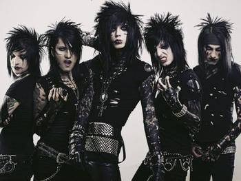 Black Veil Brides + Heavens Basement picture