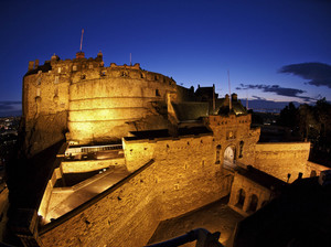 Edinburgh Castle artist photo
