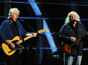 David Crosby & Graham Nash artist photo