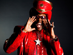 Bootsy Collins artist photo