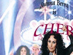 Jo Berns as Cher artist photo
