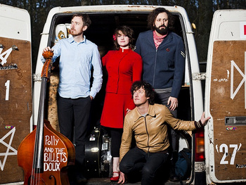 Polly And The Billets Doux + Scriber + Jack Barnett picture