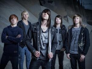Blessthefall artist photo