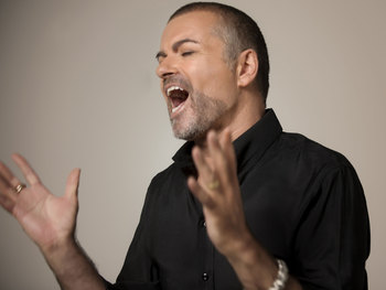 George Michael artist photo