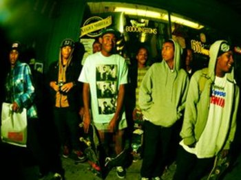 Odd Future Wolf Gang Kill Them All (OFWGKTA) artist photo