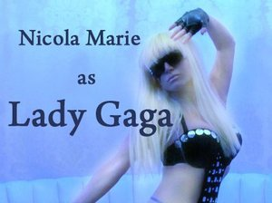 Nicola Marie As Lady GaGa artist photo