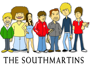 The Southmartins artist photo