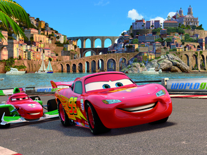 Film promo picture: Cars 2