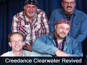 Creedance Clearwater Revived artist photo