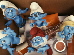 Film promo picture: The Smurfs