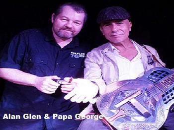 Blues With Bottle: Papa George and Alan Glen picture
