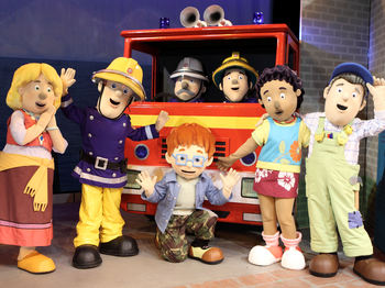 Extra! Extra! Read All About It!: Fireman Sam picture