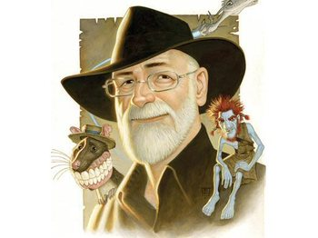 Terry Pratchett artist photo
