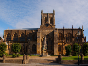 Sherborne Abbey artist photo