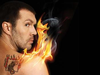 The Man With The Flaming Battenburg Tattoo: Rhod Gilbert picture