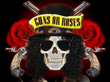 Guns or Roses + Megadeth UK picture