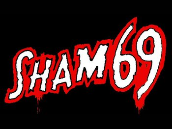 Sham 69 + No Name + Barb Wire Dolls picture
