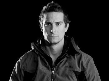 Bear Grylls artist photo