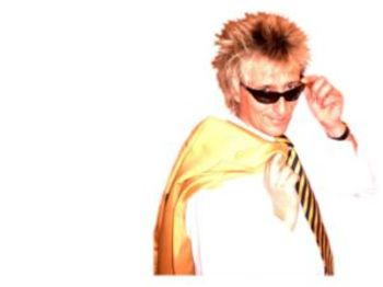 Charity Show Day: Garry Pease As Rod Stewart picture