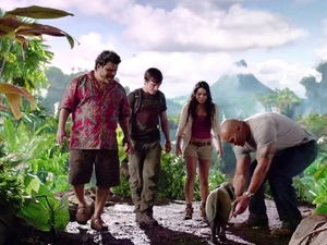 Film promo picture: Journey 2: The Mysterious Island