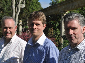 The Tim Kliphuis Swing Fiddle Trio artist photo