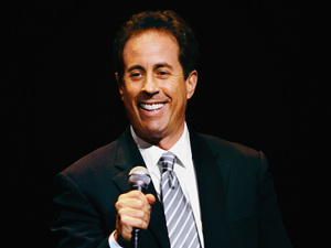 Jerry Seinfeld artist photo