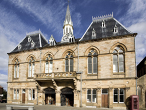 Bishop Auckland Town Hall artist photo