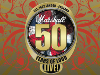Marshall 50 Years of Loud Live: Doug Aldrich + Billy Duffy + Paul Gilbert + Yngwie Malmsteen + Nicko McBrain + Joe Satriani + Corey Taylor + Brian Tichy + Zakk Wylde + Al Murray picture