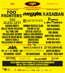 Flyer thumbnail for Leeds Festival 2012